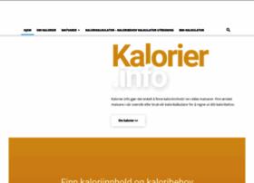 kalorier.info