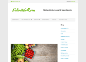 kaloritabell.com