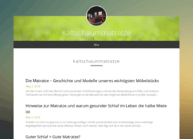 kaltschaummatratze.strikingly.com