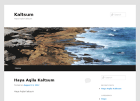 kaltsum.com