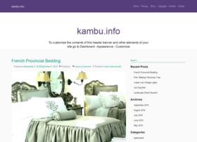 kambu.info