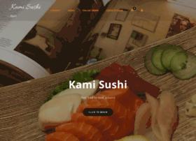 kami-sushi.com