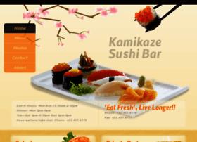 kamikazesushibar.com