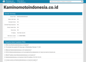 kaminomotoindonesia.co.id.ipaddress.com