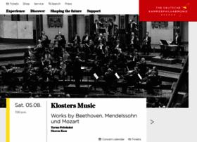 kammerphilharmonie.com