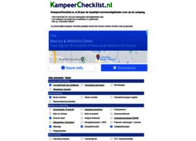 kampeerchecklist.nl