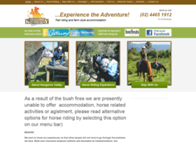 kangaroovalleyhorseriding.com