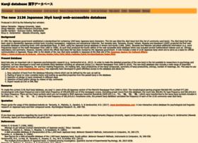 kanjidatabase.com