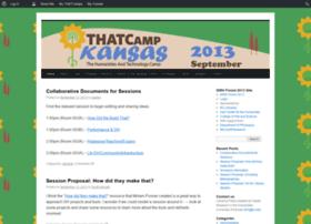 kansas2013.thatcamp.org