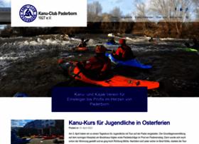 kanu-club-paderborn.de