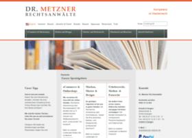 kanzlei-metzner.de