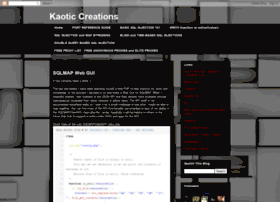 kaoticcreations.blogspot.in
