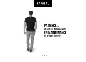 kaporalstore.com