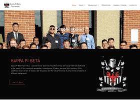 kappapibeta.org