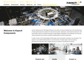 kapschcomponents.com