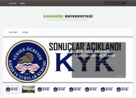karabukuniversitesi.com