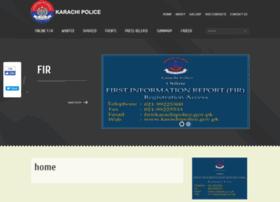 karachipolice.gov.pk