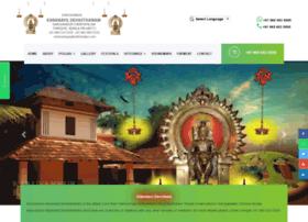 karanayildevasthanam.com