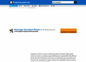 karaoke-player.programas-gratis.net