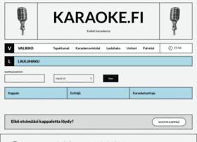 karaoke.fi