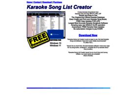 karaokelists.com