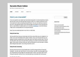 karaokemusicindia.com