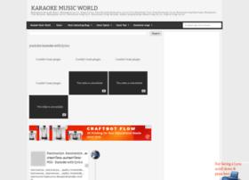 karaokemusicworld.blogspot.com