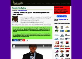 karaokepartyhire.com