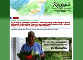 kareemsrestaurant.com