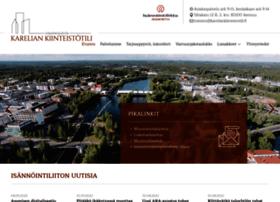kareliankiinteistotili.fi