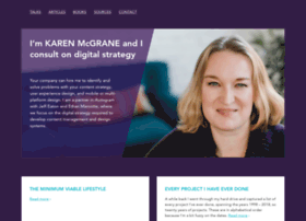 karenmcgrane.com
