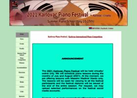 karlovacpianofestival.com