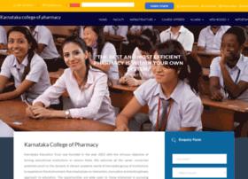karnatakacollegeofpharmacy.com
