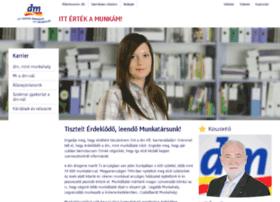 karrier.dm-drogeriemarkt.hu
