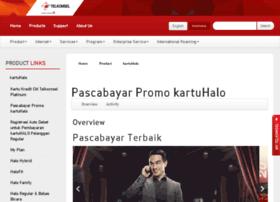 kartuhalo.telkomsel.com