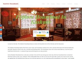 kashmirhouseboatsonline.com