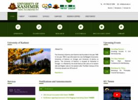 www.kashmiruniversity.net Visit site