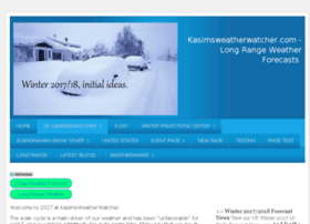 kasimsweatherwatcher.com