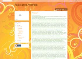 kasogoesaustralia.blogspot.com