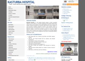kasturbahospital.org