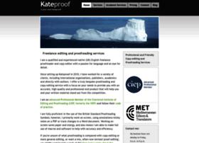 kateproof.co.uk