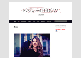 katewithrow.com
