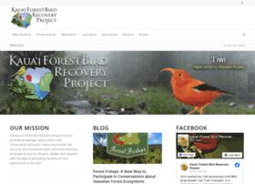 kauaiforestbirds.org