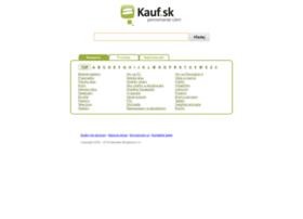 kauf.sk