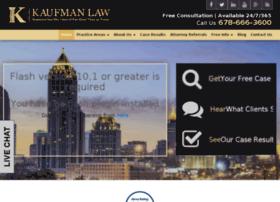 kaufmanlaw.fosterwebmarketing.com
