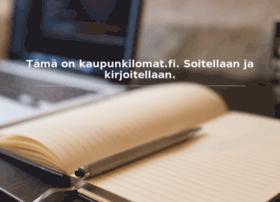 kaupunkilomat.fi