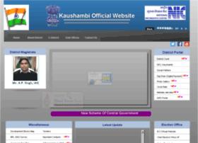 kaushambhi.nic.in