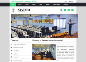 kavikkoconventioncentre.com