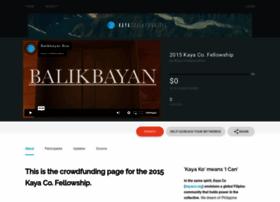 kayafellowship2015.causevox.com