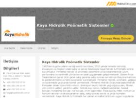 kayahidrolik.makinadukkan.com